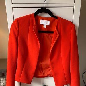 Hugo Boss Orange Cropped Blazer sz 2